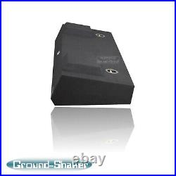 Gmc Sierra Crew-Cab 2007-2013 12 Dual Sealed Sub Box Subwoofer Enclosure