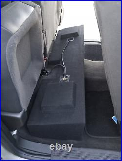 Gmc Sierra Double Cab 2007-2018 12 Dual Ported Sub Box Subwoofer Enclosure