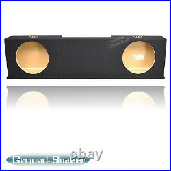 Gmc Sierra Extended Cab 1999-2006 12 Dual Ported Sub Box Subwoofer Enclosure