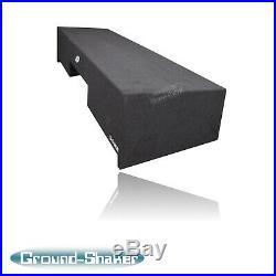 Gmc Sierra Extended-Cab 99-2006 12 Dual Sub Box Subwoofer Enclosure Down Firing