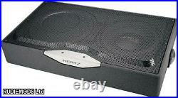 Hertz Car Audio EBX F25 10 Slim Flat Subwoofer Box with 12 passive radiator
