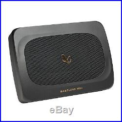 Infinity 6x8 200 Watt Max Compact Under Seat Powered Subwoofer with Bass Remote