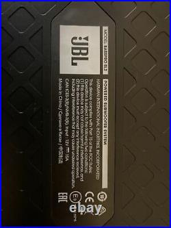 JBL BassPro SL2 8 Low-Profile Underseat Vehicle Subwoofer System Black