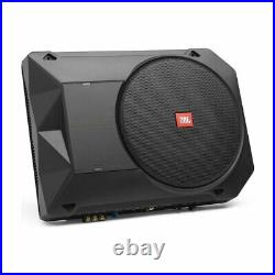 JBL BassPro SL2 Compact Powered 8 Under Seat Subwoofer Enclosure (125W RMS)
