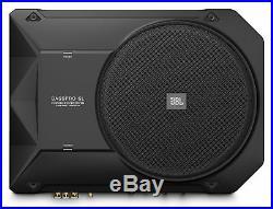JBL BassPro SL 8 Underseat Car/Truck Subwoofer Sub+Amp Kit+Headphones+Speaker