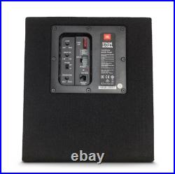 JBL STAGE 800BA 8 Ported Powered Active Subwoofer Box 200 Watt Max Builtin Amp