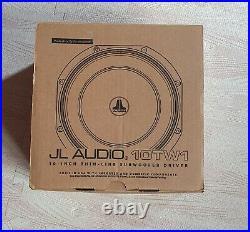 JL Audio 10TW1-2 10 300 Watts Shallow Mount Subwoofer Bass Subwoofer