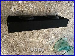 JL Audio CP208LG-W3V3 MicroSub 8 500W Twin Ported Car Sub Woofer Bass Enclosure