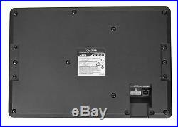 JVC CW-DRA8 8 250w Powered Under-Seat Subwoofer Car Audio Sub System+Wire Kit