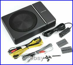 Kenwood KSC-PSW8 250W MAX 150W RMS SINGLE 8 Under Seat Powered Subwoofer I NEW