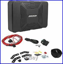 Kicker Hideaway HS8 8 Compact Subwoofer Underseat 150w Active