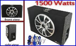 MA AUDIO 12 Amplified Active Single Sub woofer box MA124CA bass box 1500 WATTS