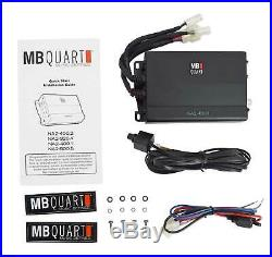 MB QUART 10 Under-Seat Subwoofer+Amp For Select 2017-2020 Can-Am Maverick X3