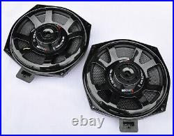 MB Quart Qm200wx Bmw & Mini Underseat Subwoofers For 1 2 3 4 5 6 X1 X3 X5 Series