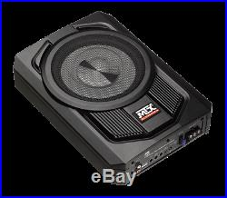 MTX AUDIO TN8MS Terminator 8 Micro Amplified Subwoofer Enclosure UNDER SEAT BOX