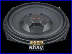 Match MW 8BMW-D Sub 8 Direct Fit Underseat Subwoofer Pair for BMW 5 Series F10