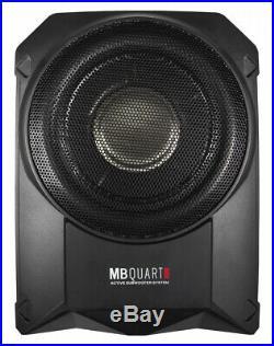 Mb-Quart QB251A Active Subwoofer Under-Seat Flat Side 25cm Bass with Endstuf