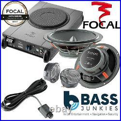 Mercedes Vito W639 Focal Underseat Sub & 6.5 Front Speaker Tweeter Upgrade Kit