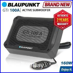 New BLAUPUNKT GTR100A 160W Car Active Subwoofer Speaker With Built In Amplifier