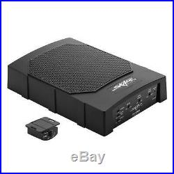 New Skar Audio Sk-swa8 8 Compact Active Low Profile Under-seat Car Subwoofer