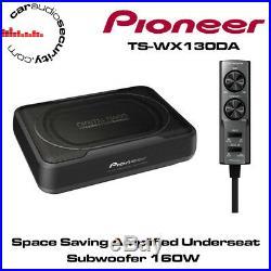 PIONEER TS-WX130DA Space Saving Amplified Underseat Subwoofer 160W