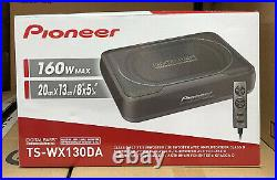 PIONEER under-Seat Car sub Bass TS-WX130 Active Subwoofer Housing Remote Control