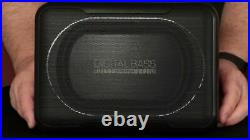 Pioneer TS-WX130DA 160 Watts Active Underseat Car Sub Box Subwoofer & Amplifier