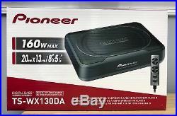 Pioneer TS-WX130DA Compact Underseat Subwoofer Built-In 160 Watt Class D Amp NEW