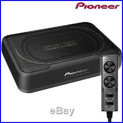 Pioneer TS-WX130DA Under Seat Car Subwoofer Space Saving Amplified Sub 160W