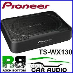 Pioneer TS-WX130EA 160 Watts Amplified Active Car Underseat Flat Sub Subwoofer