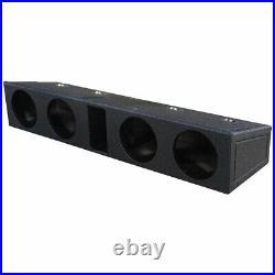 QPower QBFORDFF09408 8 Inch Quad Port Subwoofer Box for Ford F150 and F250/350