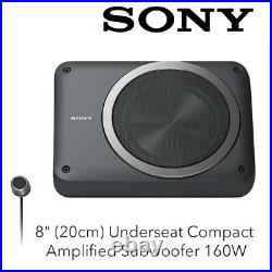 SONY XS-AW8 8 (20cm) Underseat Compact Amplified Subwoofer 160W