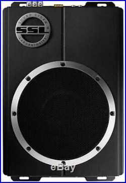 SOUNDSTORM 10 1200W Car Audio Slim Under Seat Powered Subwoofer (4 Pack)