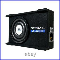 Shallow Mount 10 500 Watt Car Truck Audio Subwoofer Enclosure for Tight Spaces