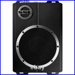 SoundStorm LOPRO8 Single 8 600W Under Seat Powered Subwoofer Bass System