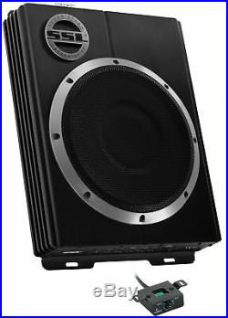 Soundstorm LOPRO8 8 600W UnderSeat Low Car Audio Subwoofer Powered Sub (2 Pack)