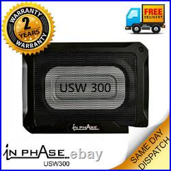 Underseat Subwoofer active subwoofer box for under seat compact bass box