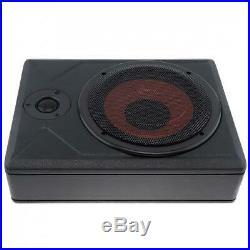 Universal 8 Inch Car Subwoofer Speaker 600W Slim Car Under Seat Bass Amplifier