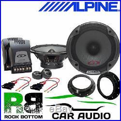 VW T5.1 2010 ALPINE Under Seat Active Subwoofer & 560W Door Upgrade Speaker Kit