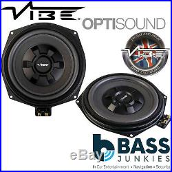 Vibe BMW8-V4 BMW 1 Series (F20/21) 8 Underseat Factory Fit Car Subwoofers PAIR
