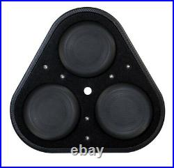 Vibe Blackair P8-v6 Bass Box 8 subwoofer with twin 8 subwoofers in box