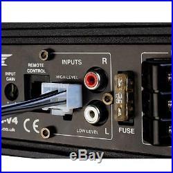 Vibe CVENC8-V Compact 8 Active Underseat Slim Sub Subwoofer Enclosure Bass 240w