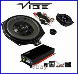 Vibe Car Amplifier + Subwoofer + Speaker Upgrade Kit for BMW 1 Series E82 E87 88