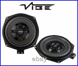 Vibe OPTISOUND 8 20cm 345w Underseat Subwoofer Upgrade for BMW 5 Series F10 F11