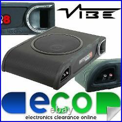 Vibe Optisound 8 900 Watts Passive Underseat Car Sub Subwoofer Bass Enclosure