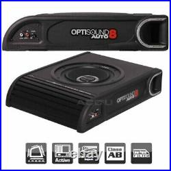 Vibe Optisound 8 Underseat Active Car 8 Subwoofer Sub+ Built In Amplifier 900w