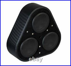 Vibe Spare wheel Sub & Amp Package 1500w BlackairP8 + Micro 400.1